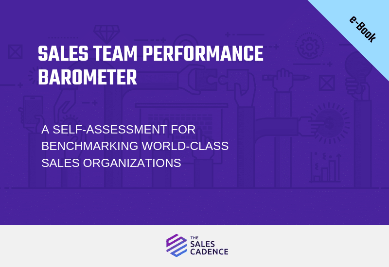 eBook: Sales Team Performance Barometer