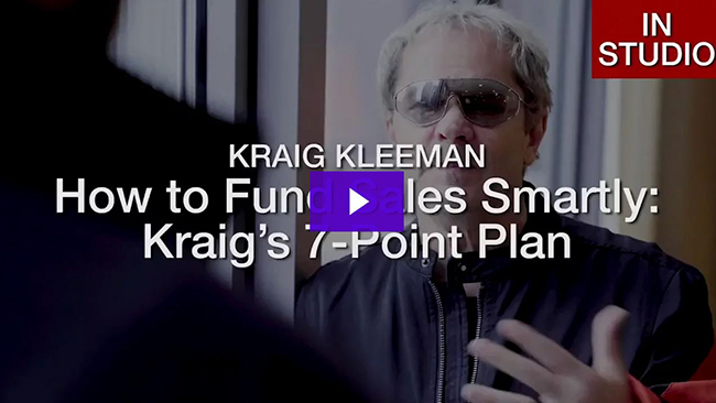 How to Fund Sales Smartly Kraigs 7-Point Plan