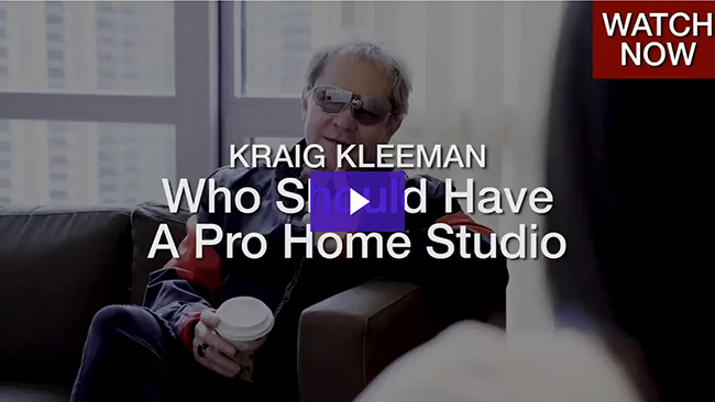 Who Should Have A Pro Home Studio